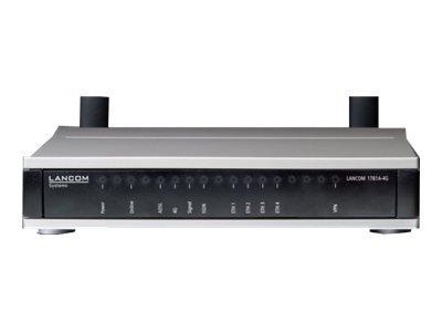 LANCOM 1781A-4G - Router - ISDN/WWAN/DSL - 4-Port-Switch - GigE, PPP Router / LANCOM 1781A-4G / VPN-Router mit Multimode ADSL2+ (Annex A / B / J / M) und int. LTE-Modem mit bis zu 100 Mbit/s, abwärtskomp. zu HSPA+, HSxP -