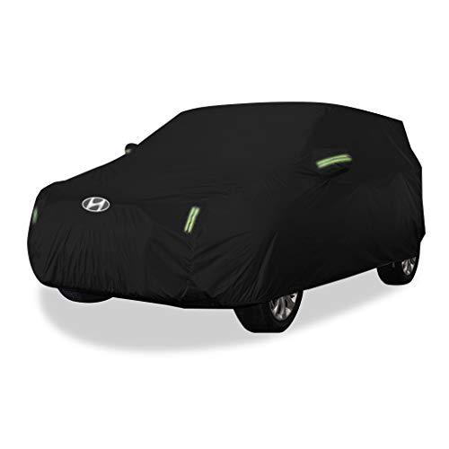 Autoabdeckung Hyundi Tucson Autoabdeckung SUV Dicker Oxford Tuch Sonnenschutz Regendicht Warme Abdeckung Auto Abdeckung (größe : Oxford Cloth - Built-in lint)
