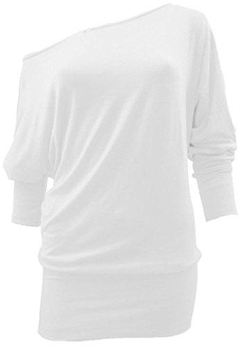 Vanilla Inc - Chemisier - Manches Longues - Femme Blanc
