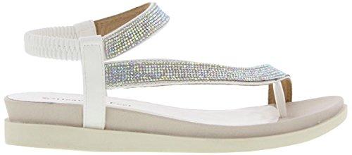 Heavenly Feet, Sandali donna White