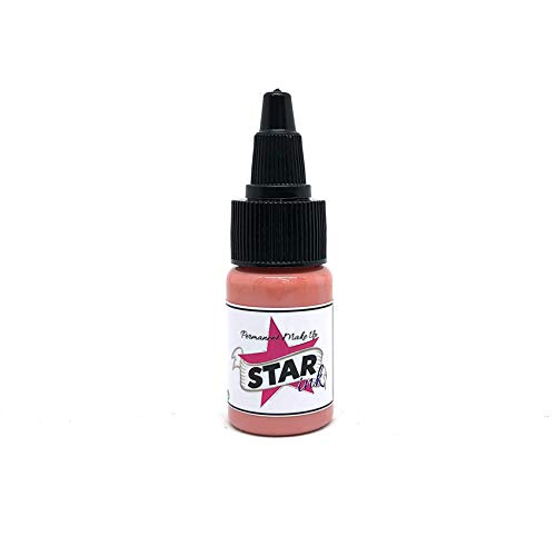 Authentische Pigment-pigment (STARINKMAKEUP Warm Rose 0.5oz (15ml) Pigment Augenbrauenpigment für Microblading Permanent Makeup Mikropigment Cosmetic farbe Augenbrauen Lippen Augen VEGAN)