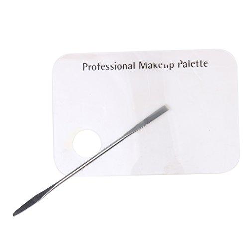 MagiDeal Acryl Palette Spachtel Make-up Kosmetische Kosmetik Make Up Palette Spachtel Werkzeug