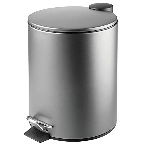 MDesign Papelera baño redonda - Contenedor residuos
