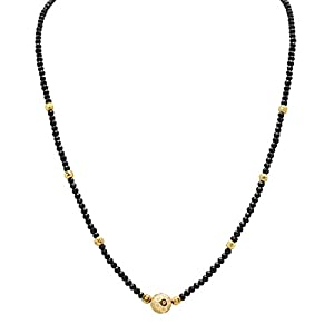 Arafa Jewellery Gold Plated Magalsutra For Women
