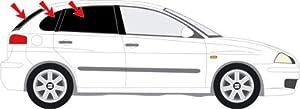 Vitres teintées SANS FILM SEAT IBIZA III 5 portes 2002 - 08 Art. 26035-5 Solarplexius