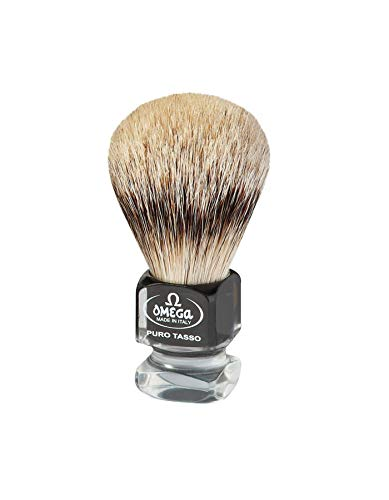 Omega 615 Blaireau de rasage en poils de blaireau de première qualité