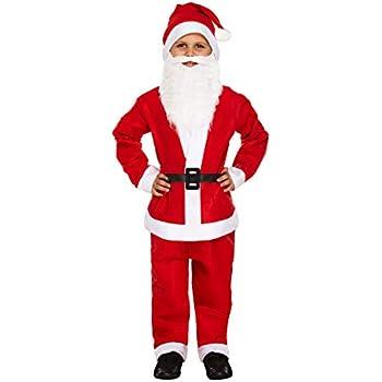 New Red /& White Santa 5 Piece Red /& Green Elf 5 Piece 4-6 7-9 10-12 Years
