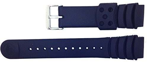 Genuine Seiko Z20 20mm Replacement Black Divers Watch Strap 4KR3JZ for SKA371P2, SNDA13P2, SRP043K2,