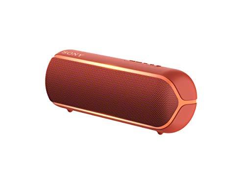 Sony SRS-XB22R - Altavoz inalámbrico portátil (Bluetooth, Extra Bass, diseño portátil, batería...