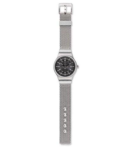 Swatch Reloj Analógico para Hombre de Automático con Correa en Acero