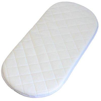Linens Limited Deluxe - Colchón acolchado para moisés - 65 x 28 x 3,5 cm
