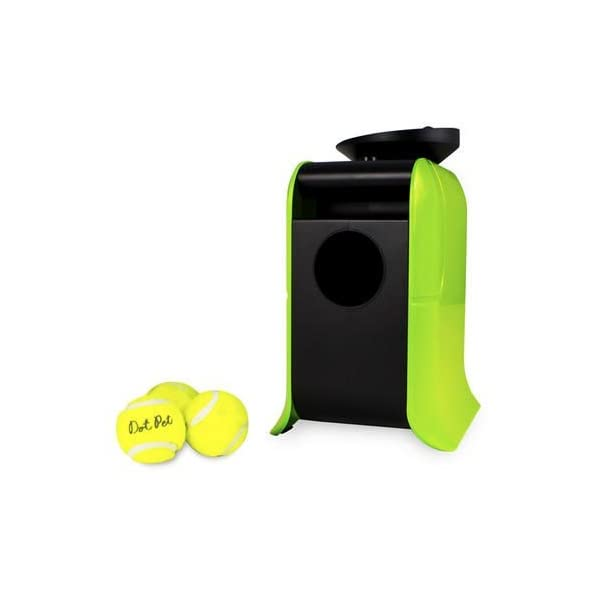 Electriq Automatic Dog Ball Launcher with Treat Dispenser 2