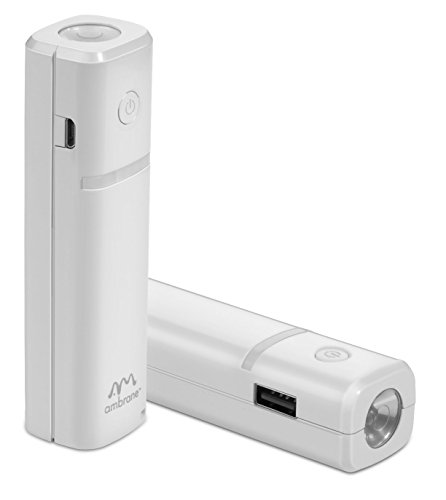 Ambrane Power Bank P-203 (2600mAh) White  available at amazon for Rs.349