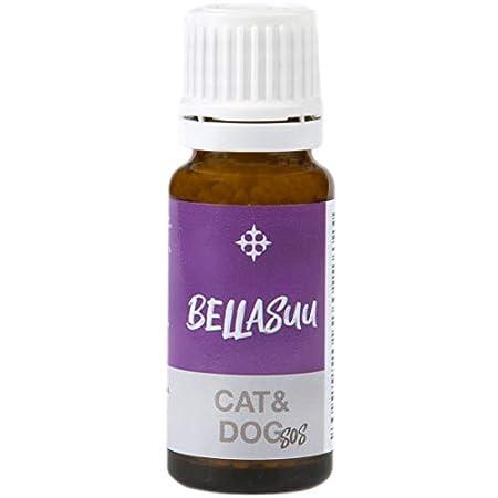Bellasuu Rescue Globuli für Hunde, Katzen, Haustiere – Bachblüten zur Beruhigung, Natürliches Beruhigungsmittel bei…