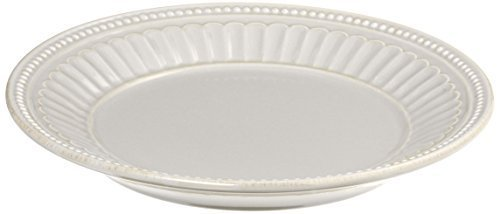 Lenox French Perle Everything Plate, White by Lenox Lenox Perle