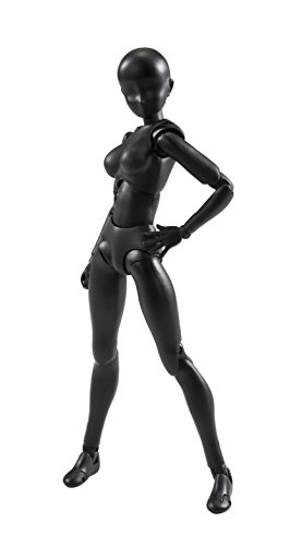 Bandai Tamashii Nations S.H. Figuarts Woman (Solid Black Color Ver.) Action Figure