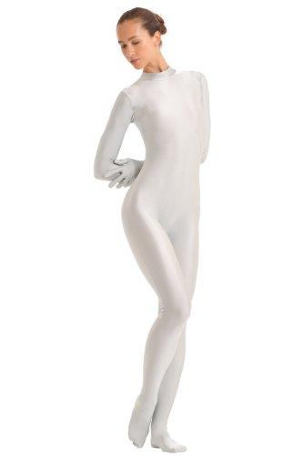 Turnarena Damen Spandex Ganzanzug mit Händen und Füßen, Größe:Damen 48;Farbe:flieder