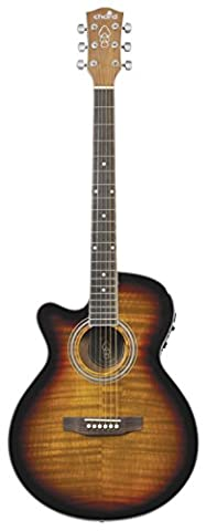 chord Left Handed Electro-Acoustic Guitar -