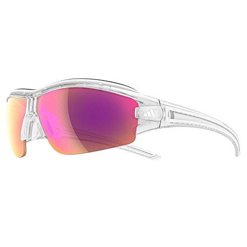 Adidas Brille a181 evil eye halfrim pro L crystal shiny 6097 LST Bright VARIO