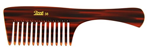 Roots Hair Combs - Wide Teeth Comb for Wavy/ Curly/ Thick/ Long Hair and Shampoo Use