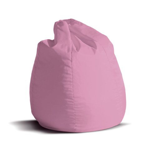 Pouf-poltrona-sacco-piccola-BAG-Jive-tessuto-tecnico-antistrappo-rosa-imbottito-Avalon