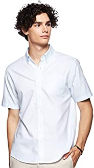 Giordano Men's 01048209 Wrinkle Free Short Sleeve S