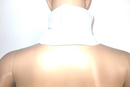 Kälte-therapie Pad-tasche (Kalt-Warm-Kompressen-Wickel zur Linderung von Nackenschmerzen - mit Stabiler Auslaufsicherer Komfort-Nylon-Hülle)
