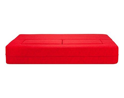 HOMEMANIA-Divano-Letto-Modulare-Biscuit-Rosso