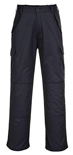 Portwest C703–Pantalons treillis de travail, C703BKRM Armada