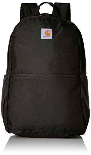 Carhartt 8948030201Trade Plus Rucksack mit 38,1cm Laptopfach, schwarz Carhartt Logo-patch