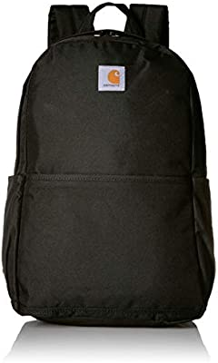 Carhartt 8948030201comercio Plus mochila con compartimento para portátil de 15, color negro
