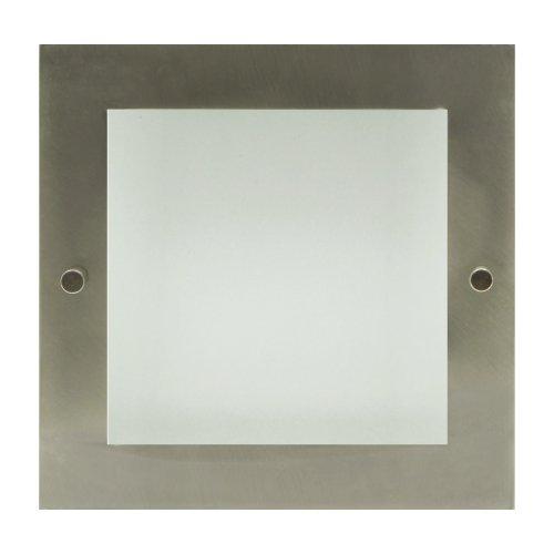 NEXIA - Downlight para lámpara de fluorescencia compacta 2x26w, color niquel mate