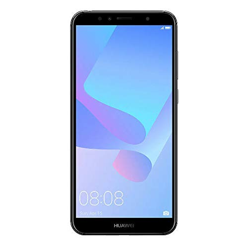 Huawei Y6 TIM (2018) (Smartphone 16 GB, Android 8.0 (OREO)) nero