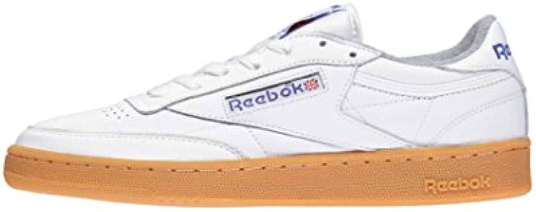 Reebok Club C 85 Gum  Homage Pack , , , bianca-reebok royal-flat grigio | Eccezionale  | Uomo/Donna Scarpa  2ba588