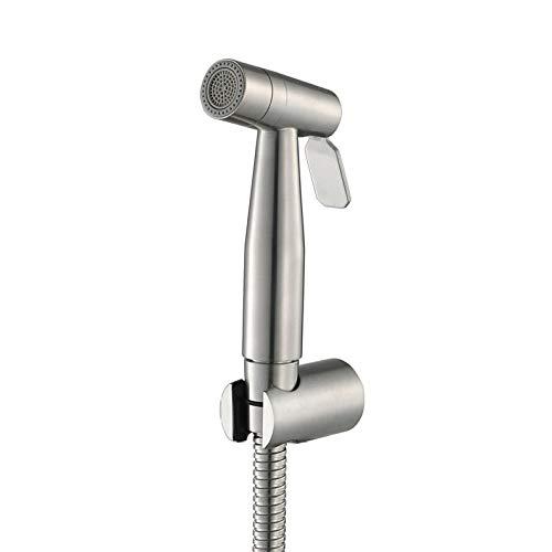 Bhpojdl Bidet-Armaturen,Hand,Spritze Für Wc, Multi-Funktionale Silber Zeichnung Baby Tuch Windel Sprayer Für Wc Wasser Sprayer-Adjustable Druckregelung