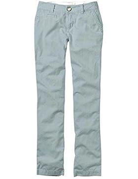 Pantalones de Tela De Algodón Estilo Chinos Mujer de Eddie Bauer