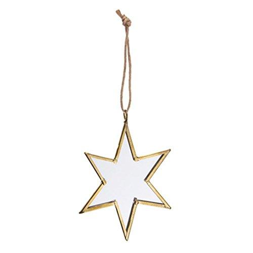 Darice 30009492Gold Rahmen verspiegelt Weihnachten ornaments-star
