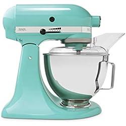 KitchenAid 5KSM45EAQ Robot pâtissier, Bleu Ciel