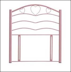 Serene Yasmin 3ft Single Headboard Pink