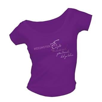 Bravado Fischer,Helene - Es gibt tausend gute Gründe 4826162 Damen Shirts/ T-Shirts, Gr. 34/36 (S), Violett (lila)