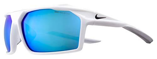 Nike Herren Sonnenbrille, White, 65
