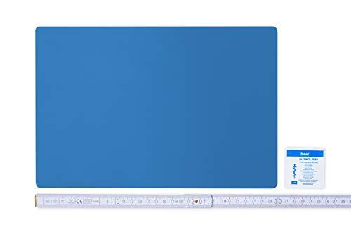 Flickly Anhänger Planen Reparatur Pflaster | in vielen Farben erhältlich | 30cm x 20cm | SELBSTKLEBEND (lichtblau)