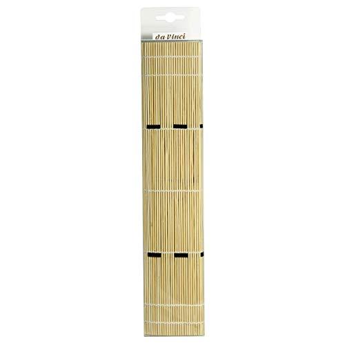 Da Vinci Serie 4019Alfombra de bambú, Madera, Amarillento, 30x 30x 30cm