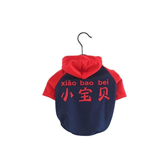 Jcloris Pet Clothes Baby Baby Dog   Sweater Pet Clothes Clothing Thin Section@宝蓝 宝蓝 - 小 小 宝贝 狗 卫_Xs-Plus Klein (Ca. 4 Kg)