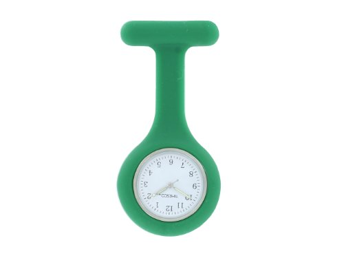 Timesco Fob Watch Silicone, Green by