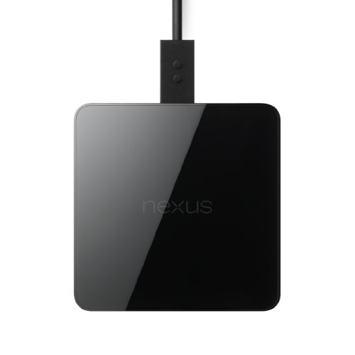 Google - Lg Nexus Wireless Charger For Nexus Smartphones/Tablets - Retail Packaging - Black