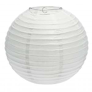 Lanterne boule blanche