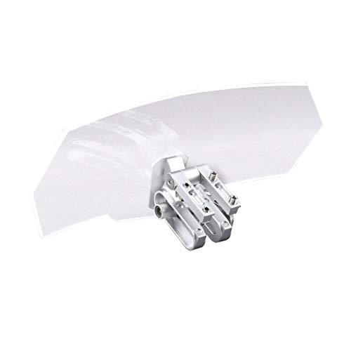 B Blesiya 1 pc Deflector de Viento de Parabrisas Repuestos para Motos...