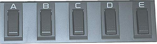 Korg EC5 Multifunktions Pedal 5-fach PA-Serie PA3X/PA4X