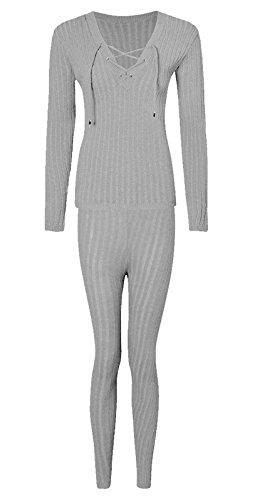 Luxry Homeware - Sweat-shirt - Manches Longues - Femme * Gris